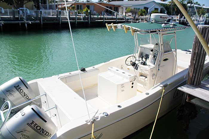 Cat-Sass - Marathon Florida Boat Rental