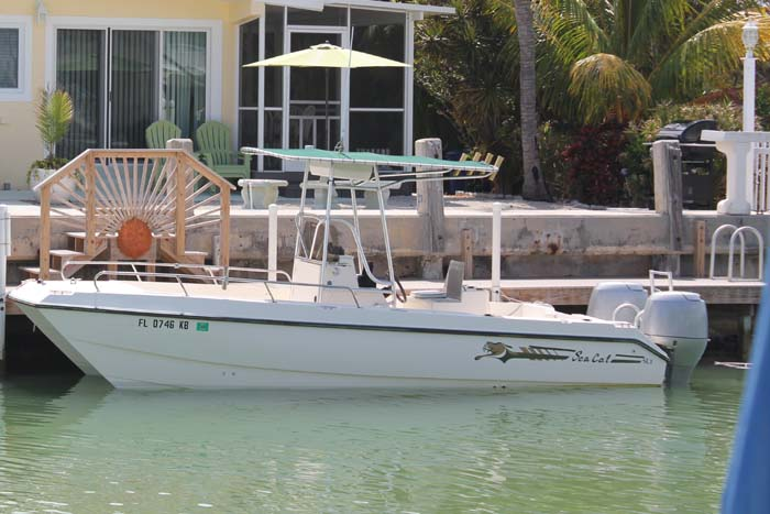 Reserve your Key Colony Beach Boat Rental